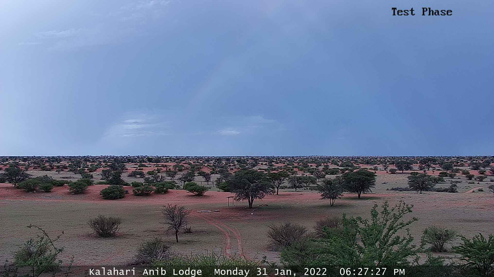 Kalahari Anib Lodge Weather Cam