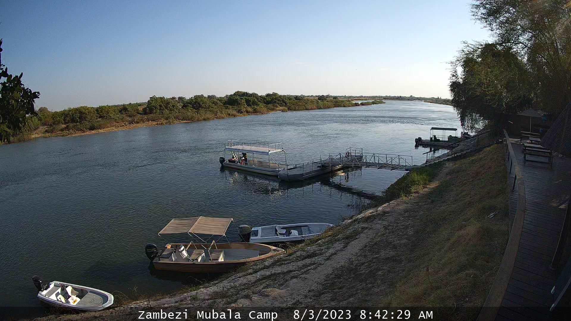 Zambezi Mubala Camp WebCam