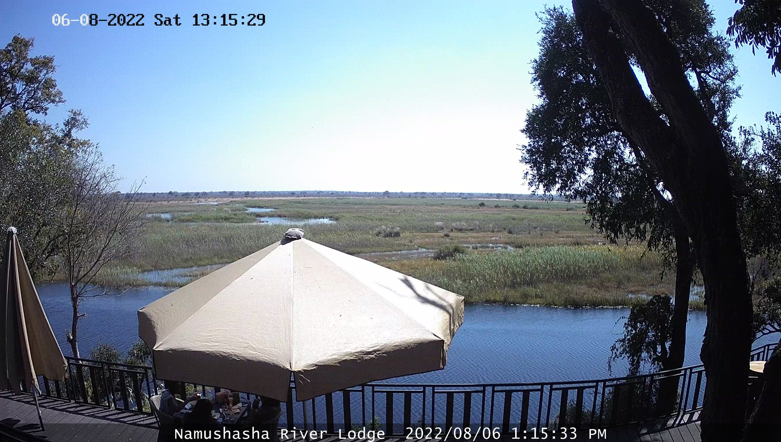 Gondwana Namushasha River Lodge Weather Cam